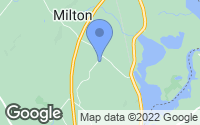 Map of Milton, NH