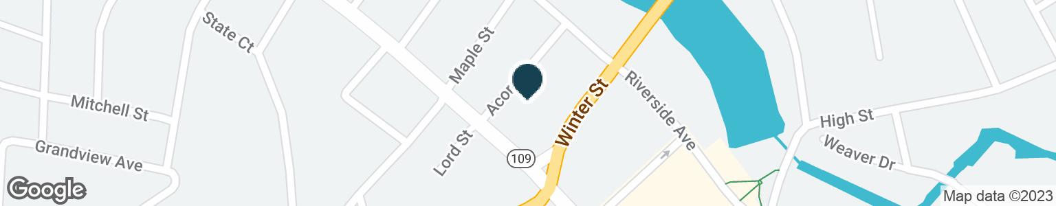 Google Map of868 MAIN ST