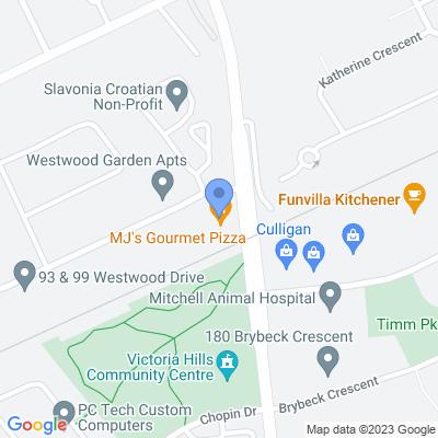 Hasty Market - Kitchener Map