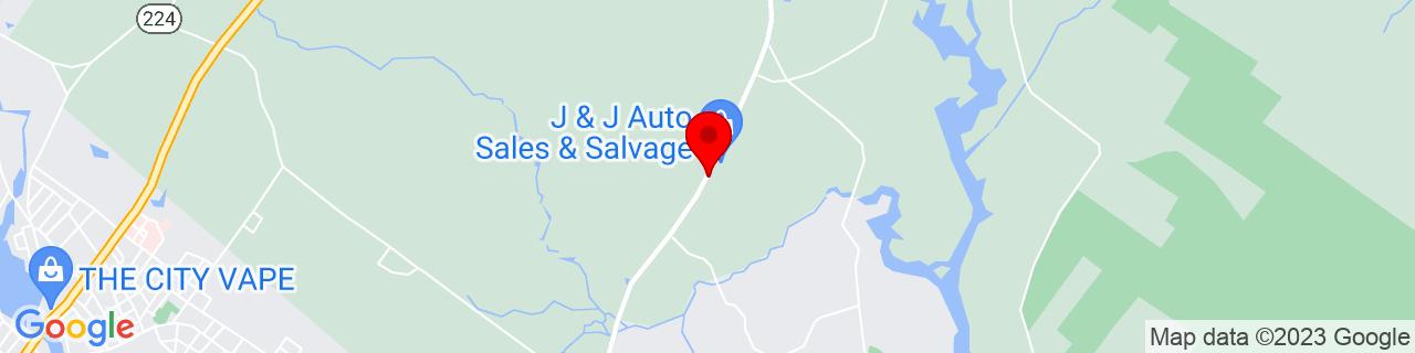 Google Map of 43.4516127, -70.72391189999999