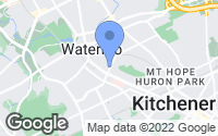 Map of Waterloo, ON