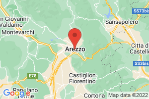 Map of Arezzo