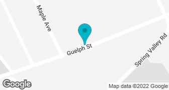 Google Map of Kitchener location