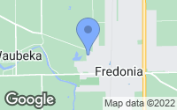 Map of Fredonia, WI