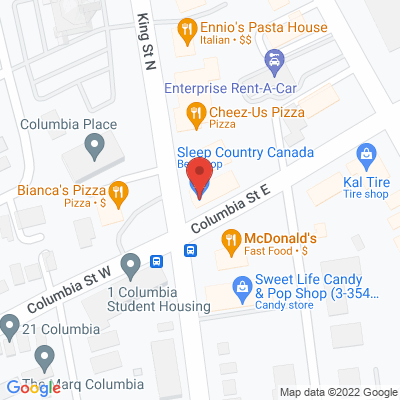 Waterloo Physiotherapy Massage Rehabilitation Static Google Map