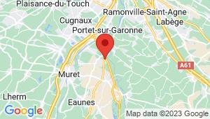 Carte de localisation du centre de contrôle technique PINS JUSTARET