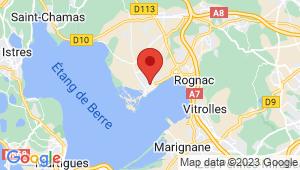 Carte de localisation du centre de contrôle technique BERRE L ETANG