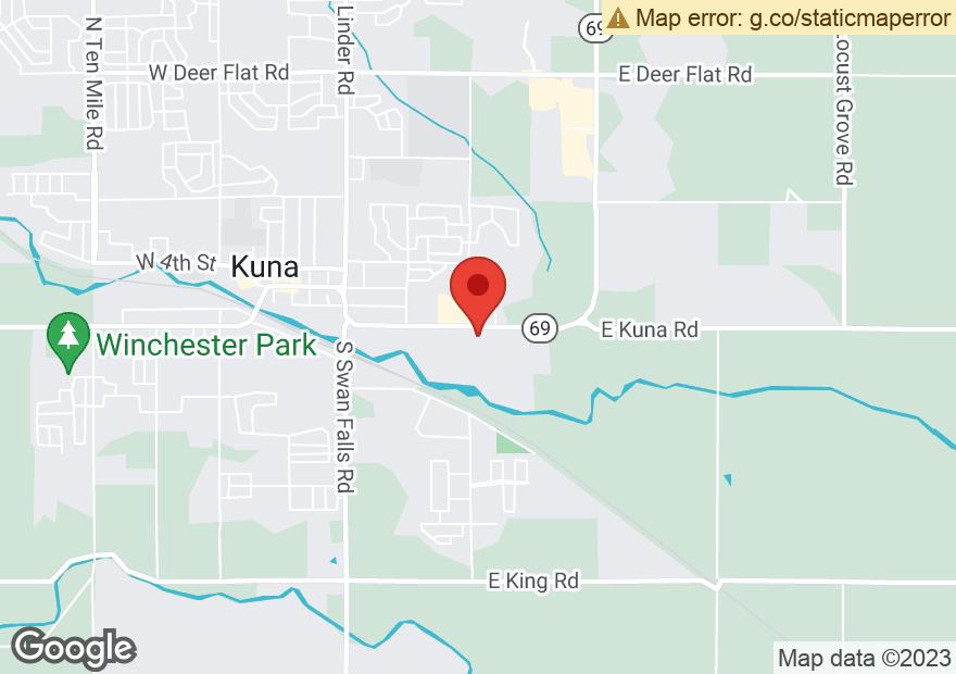 Google Map of 869 E AVALON ST