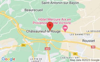 D7N, Châteauneuf-le-Rouge, France