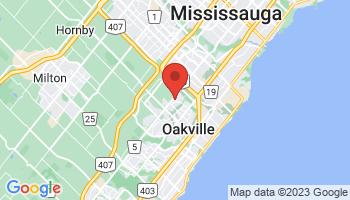 Map of Oakville