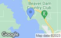 Map of Beaver Dam, WI