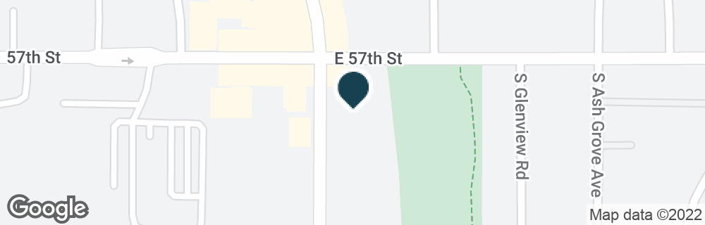Google Map of4900 S CLIFF AVE