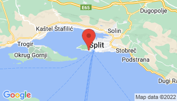 Map of Split