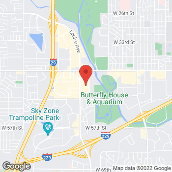 Map of buybuy BABY at 3800 South Louise Avenue, Sioux Falls, SD 57106