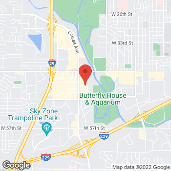 Map of buybuy BABY at 3800 South Louise Avenue, Sioux Falls, SD 57106-6327