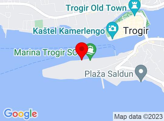 Google Map of Trogir