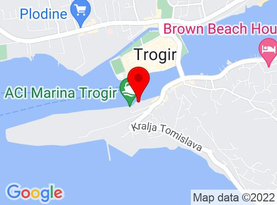 Google Map of Trogir