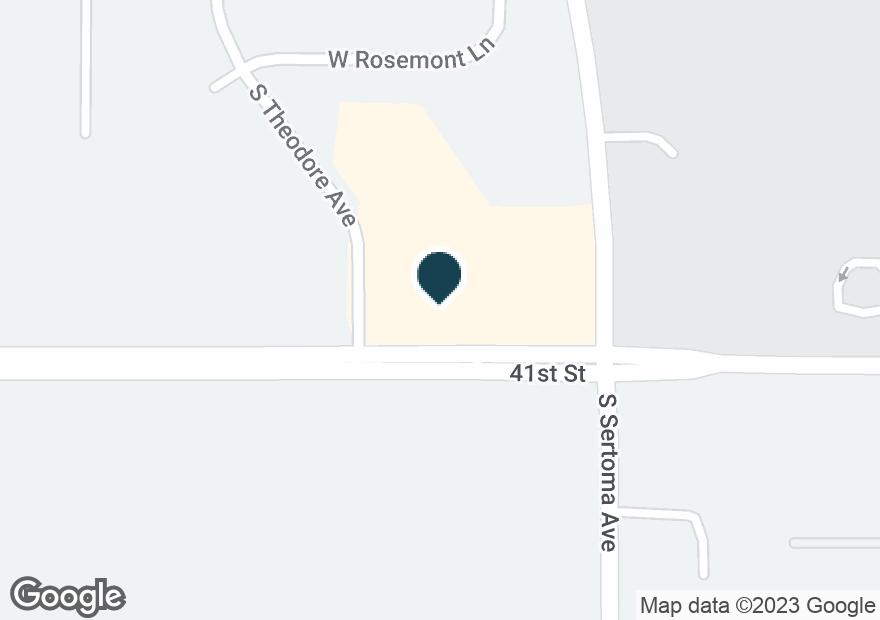 Google Map of7120 W 41ST ST