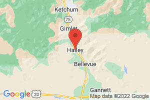 Map of Hailey