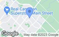 Map of Milton, ON