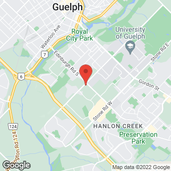 Map of Tim Hortons at 138 College Ave West, Guelph, ON N1G 1S4
