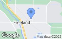 Map of Freeland, MI