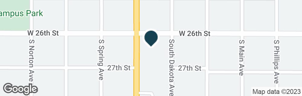Google Map of1806 S MINNESOTA AVE