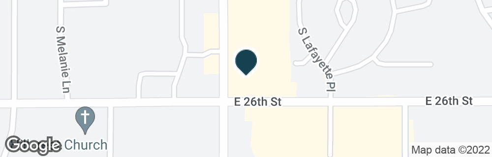 Google Map of1720 S SYCAMORE AVE