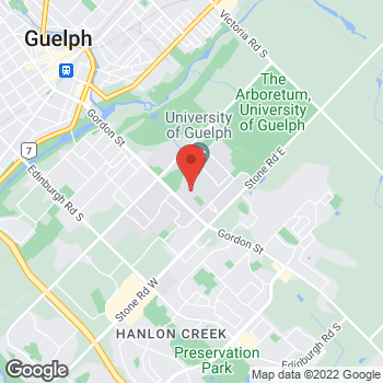 Map of Tim Hortons at Macnaughton, Guelph, ON N1G 2W1