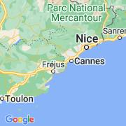 Le thème La Côte d'Azur sur notre carte histoire-géo