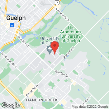 Map of Tim Hortons at University Of Guelph - Gryphs Sports Center, Guelph, ON N1G 2W1