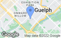 Map of Guelph, ON