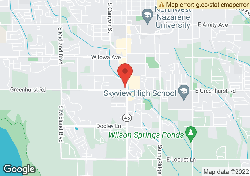 Google Map of 2219 12TH AVE RD