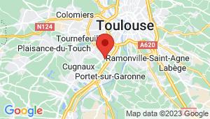 Carte de localisation du centre de contrôle technique TOULOUSE