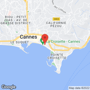Map of Michael Kors at 63 Boulevard De La Croisette, Cannes, Alpes-Maritimes 06400