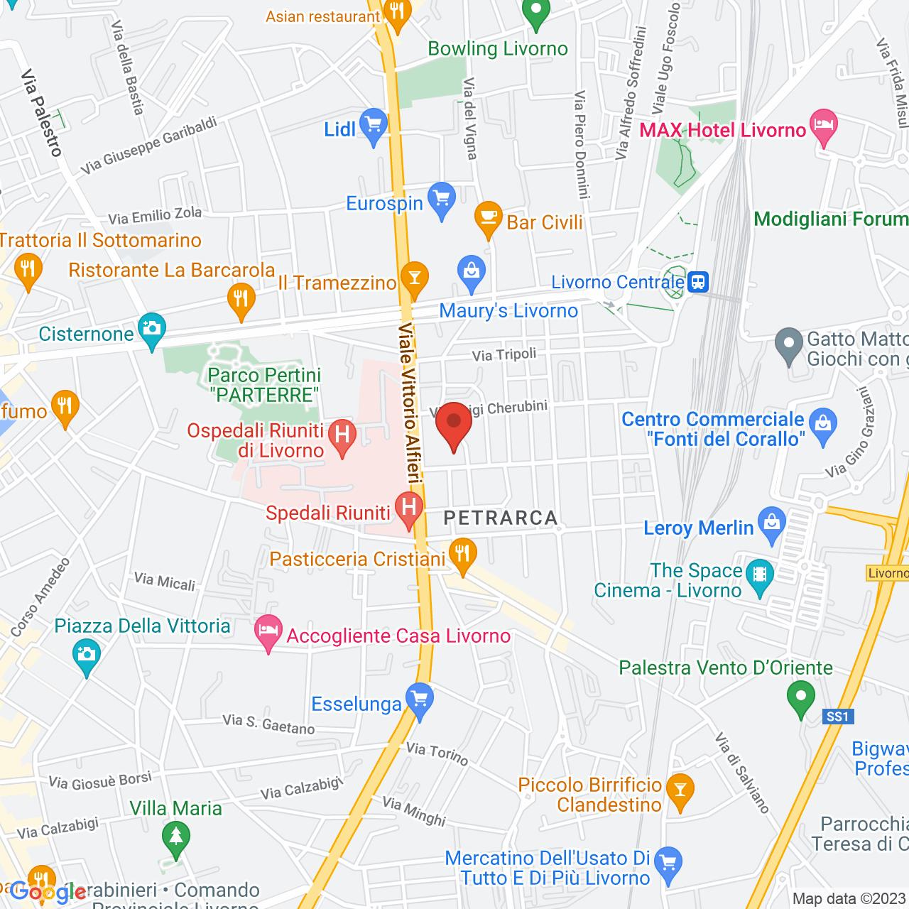 Wodersys location
