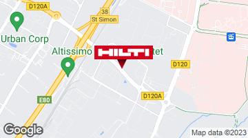 Get directions to Espace Hilti - La Plateforme du Bâtiment - Toulouse (rue Jean Perrin)