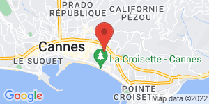 Carte de NOTSHY Cannes