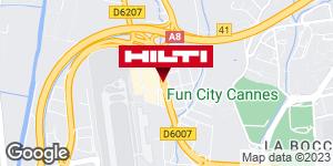 Get directions to Hilti Store - Cannes / Mandelieu la Napoule (ZI de la Tourrade)