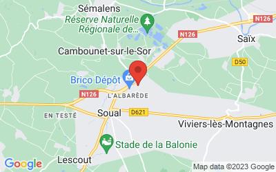ZA de la Prade 24 Impasse Louis Amper, 81580 Soual, Midi-Pyrenees, France