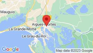Carte de localisation du centre de contrôle technique AIGUES MORTES