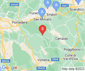 Karte für Castelfalfi Golf & Country Club