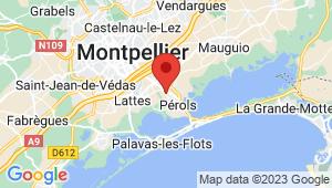 Carte de localisation du centre de contrôle technique PEROLS