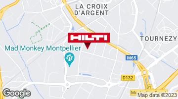 Get directions to Espace Hilti - La Plateforme du Bâtiment - Montpellier