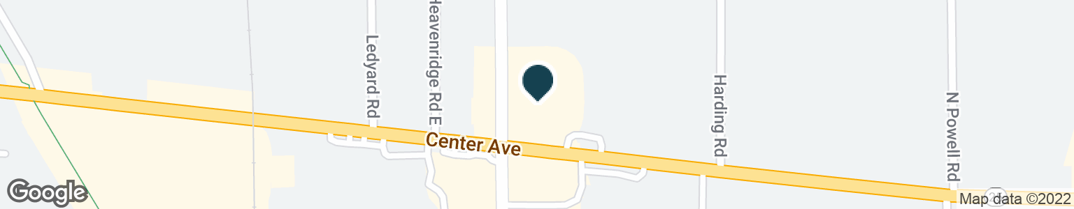 Google Map of2901 CENTER AVE