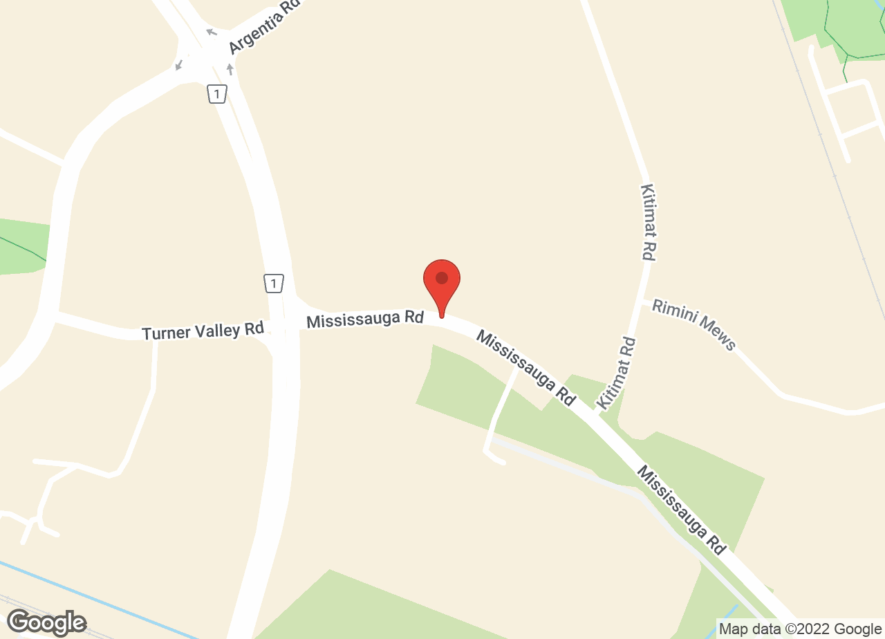 Google Map of Credit Valley Animal Hospital