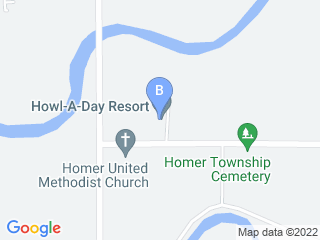 Map of Howl A Day Resort Dog Boarding options in Midland | Boarding
