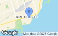 Map of Etobicoke, ON
