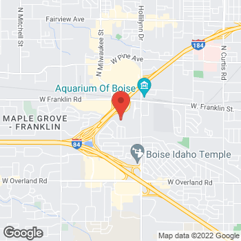 Map of Lyle Pearson Volvo Cars Boise at 7805 Gratz Drive, Boise, ID 83709