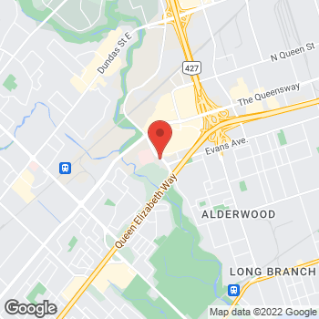 Map of Tim Hortons at 200 Sherway Dr, Etobicoke, ON M9C 5N6